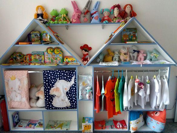 Намаление! Отворен детски гардероб