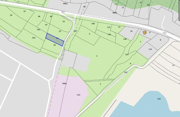 Продавам нива с. Долна Диканя 1038 кв. м 40 км от София