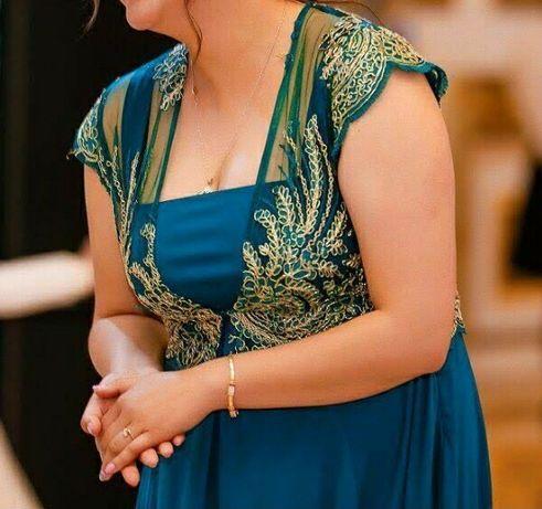 Платье  в пол + болеро