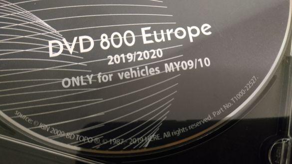 Opel Insignia MY2009/2010 Navigation DVD800 ъпдейт карти 2019/2020