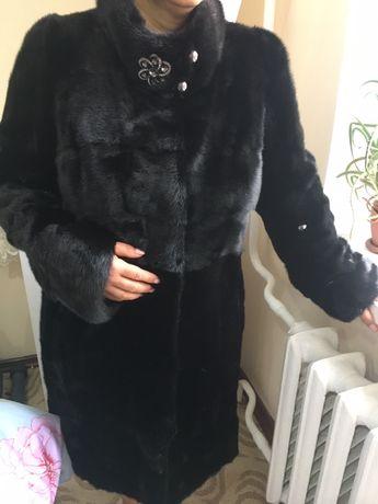 Норковая шуба с этикеткой
