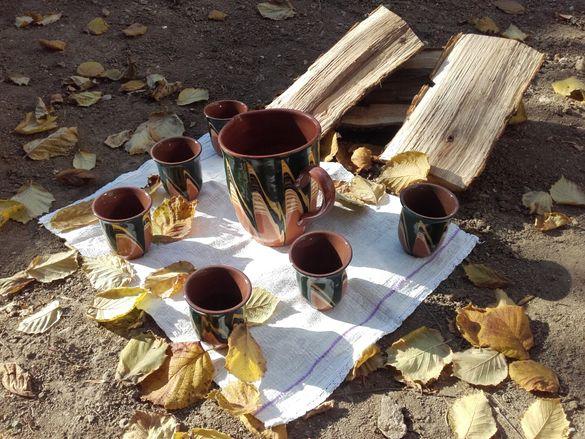 Битов керамичен сервиз за любителите на вихото и традициите СТАР
