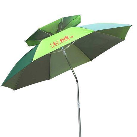 0191 Зонт с клапаном и защитой от ветра и солнца для туризма рыбалки