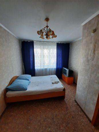 1 комнатная квартира ночь 3500 тенге
