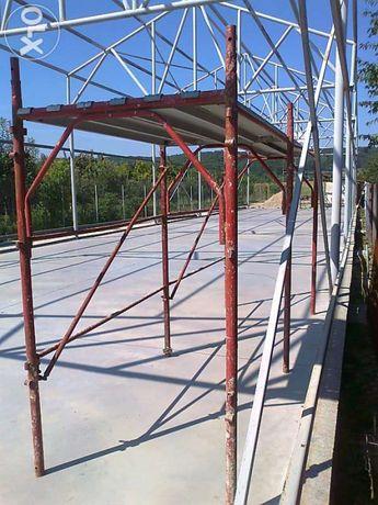 Inchiriez schela metalica 35 ron /zi pentru 10 module complete