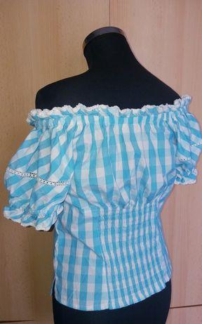 Bluza deosebita stil vintage cu umeri goi