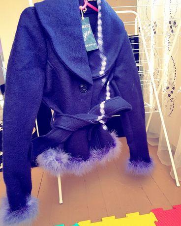 Уникално палто с Естествен Пух от Щраус ПРОМО ЦЕНА 50лв. До Петък