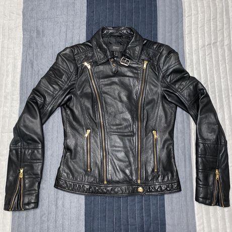 Esprit Collection яке естествена агнешка кожа, черно, размер 34