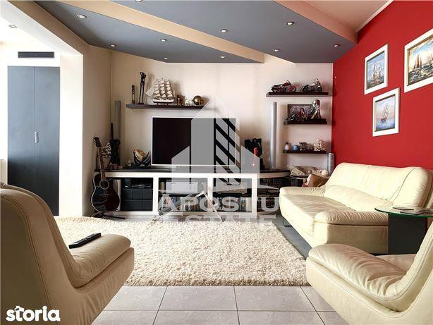 Apartament cu 3 camere, centrala termica, Dambovita