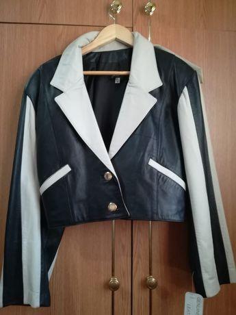Jacheta / Geaca piele (julian k genuine leather jacket )
