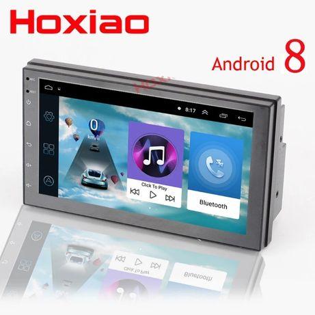 Универсална мултимедия за кола. GPS, Android 8.1, камера за заден ход.