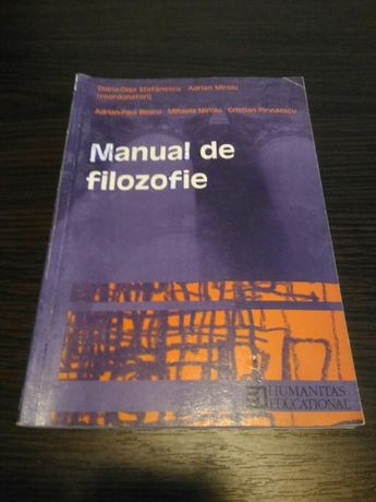 Vand manual de filozofie
