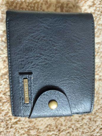 Мужской кожаный  портмоне. Отличный подарок для настоящих мужчин