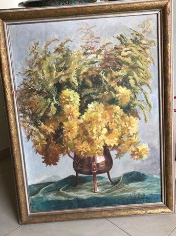 NILS FORSBERG 1870-1961 Tablou mare pictura ulei pe panza