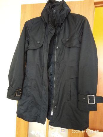 Брендовая демисезонная удлиненная куртка Olsen