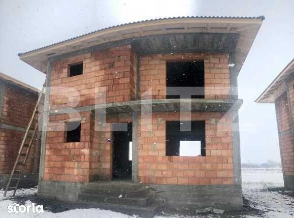 Casa cu 4 camere, 110 mp, teren 250 mp, zona Stupini