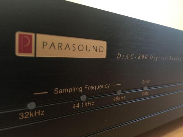 PARASOUND D/AC-800 Digital-to-Analog Converter