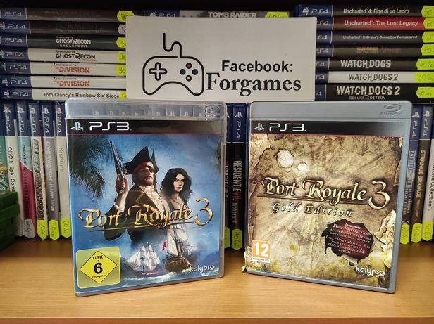 Vindem jocuri consola PS3 Port Royale 3 Gold Edition Forgames.ro