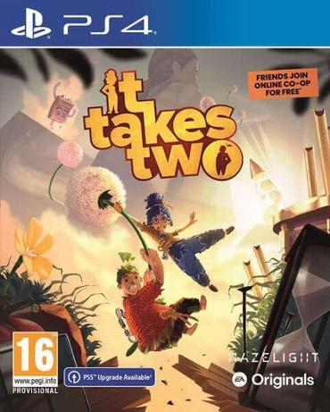 It takes two для PS4