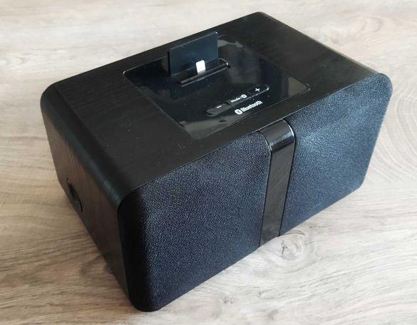 Безжична bluetooth тонколонка с док за IPhone/ IPad