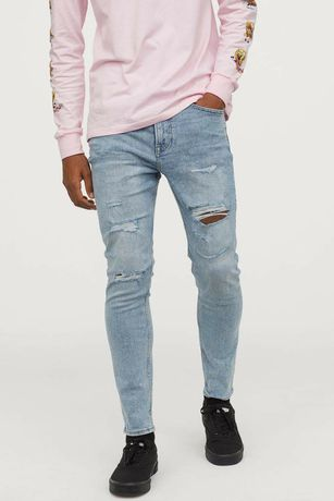 Skinny Cropped Jeans H&M