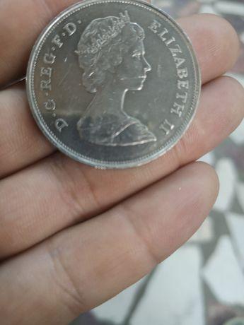 Moneda aniversara Lady DIANA&H.R.H 1981