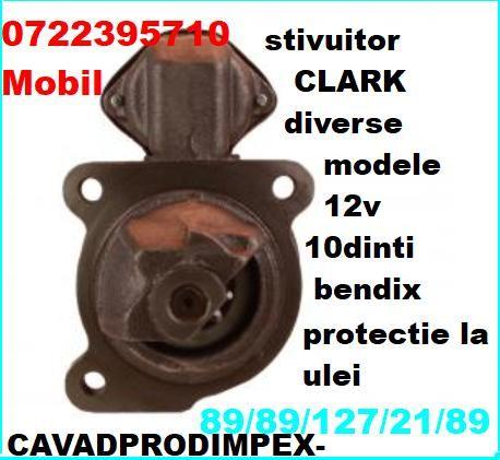 Electromotor pentru stivuitor CLARK bendix 10dinti cu protectie ulei