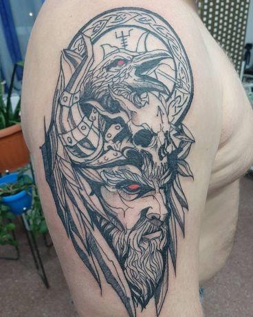 Тату Нур-султан. Татуировка.