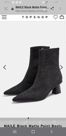 Новые женские ботинки topshop размер 37 заказаны из англии
