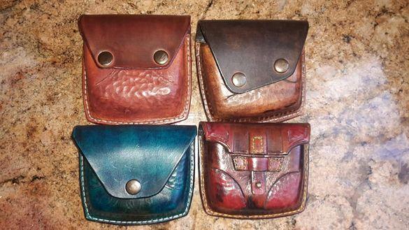 Мъжки чанти, паласки - кожа