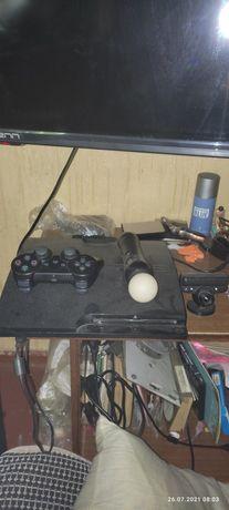 Продам PS3 слим прошитая