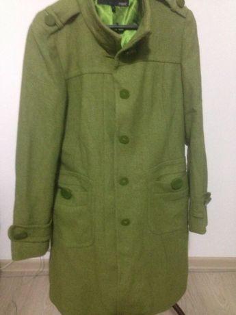 Palton verde lana NEXT 42-44