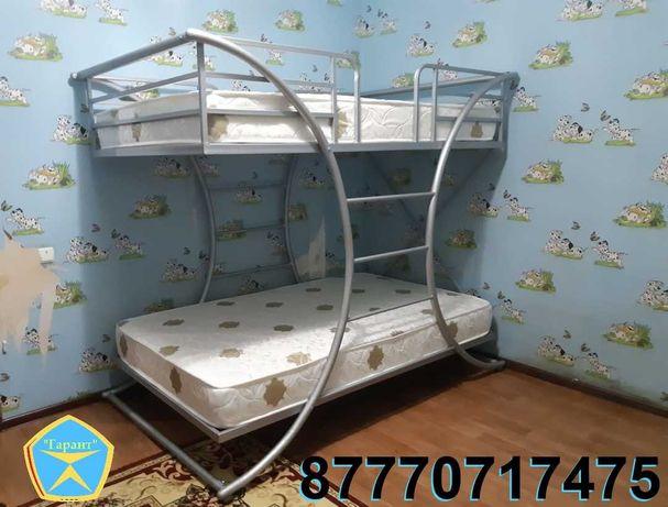 """Двухъярусная кровать """" Баттерфляй"""" (двухярусная). Рассрочка. Доставка."""