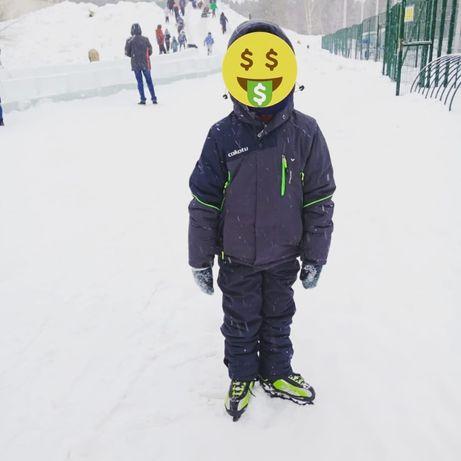 Лыжный костюм на мальчика