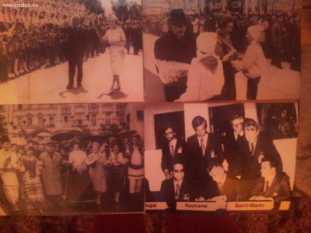 Poze colectie originale alb negru-sotii Ceausescu-vand /schimb!