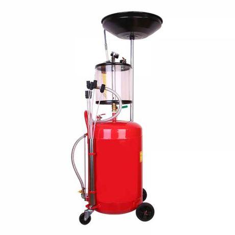Машина за източване на масло (масларка) 80 литра с вакуум стъкленица