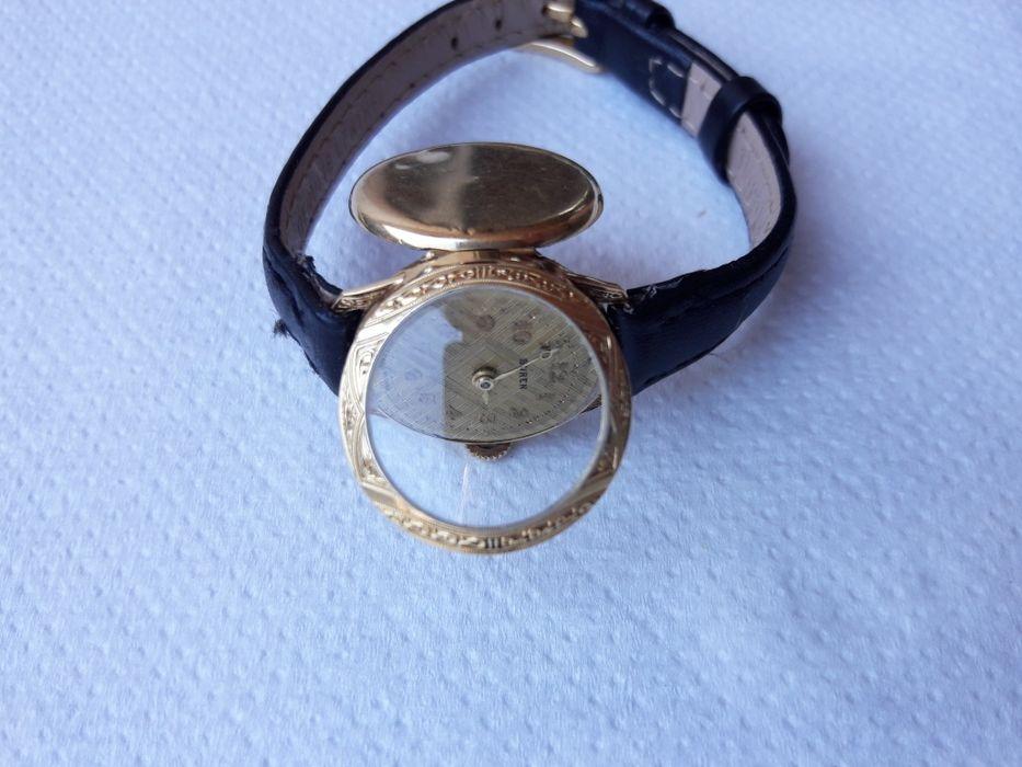 Ceas de aur 14k masiv  Buren 14k Plopeni - imagine 1