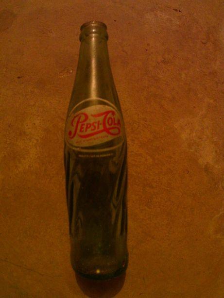 Sticla de suc pepsi cola 250ml decoratiune bar sau colectie