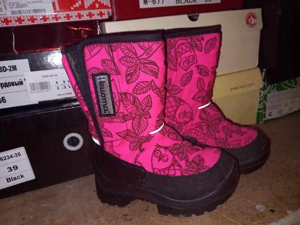 Зимняя обувь для девочки продам срочно