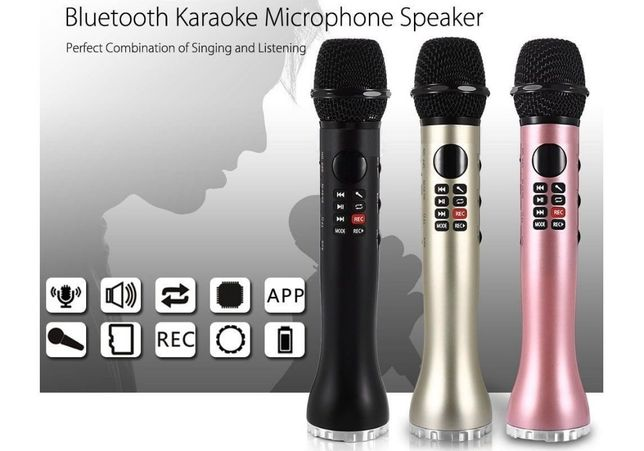 Bluetooth Караоке Микрофон L598