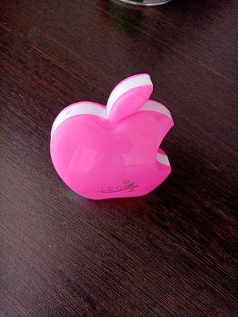 Продам розовый ночник