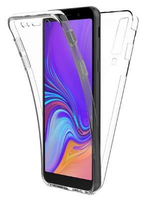 Чехол 360 Full Coque ударопрочный для Samsung Galaxy A8Plus