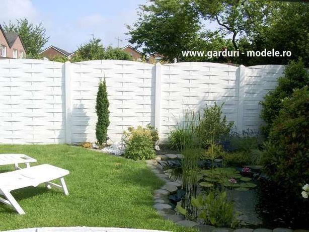 "Gard beton ""scandura impletita """