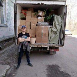 Вывоз мусора хлама старую мебель