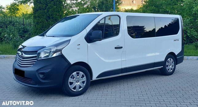 Opel Vivaro 1.6 CDTi 120 Cp 2015 Euro 5 Maxi Lung 8+1 Trafic Vito T5 Caravelle