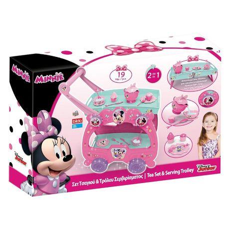 Masa Minnie Mouse pentru ceai , cu cesti incluse, Bucatarie Copii 57cm