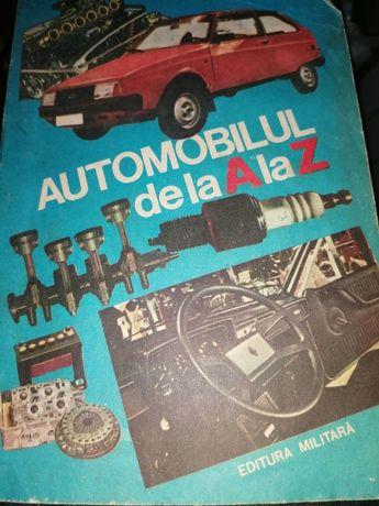 carte automobilu de la A la Z