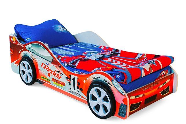 Детская кроватка машинка «Стрела» Бесплатная доставка
