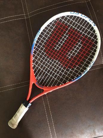 """Тенис ракета детска 3г 4г 5г Wilson 19 """""""