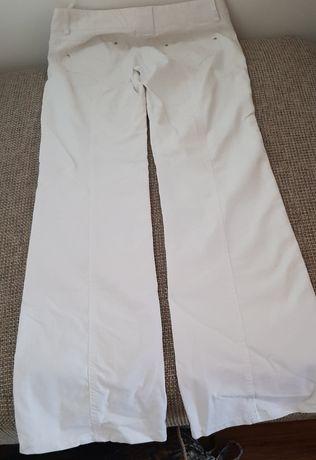 Pantaloni blug alb